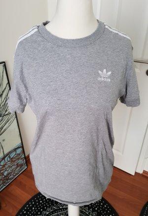Adidas Camiseta blanco-gris claro