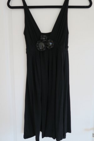 Mango Babydoll-jurk zwart