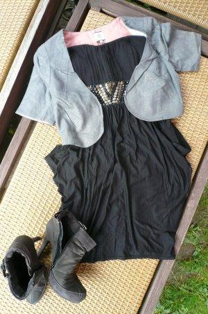 Tolles Bandeau Kleid mit Nieten von Hallhuber in Gr.34/36