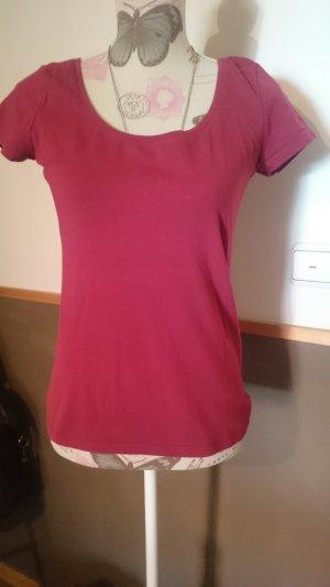 tolles Basic Tshirt himmbeerfarben H&M Gr. M