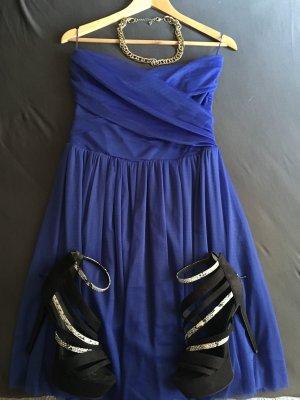 Tolles Blaues Abendkleid
