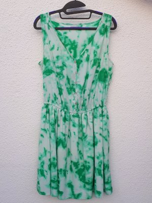 AJC Blouse Dress white-green