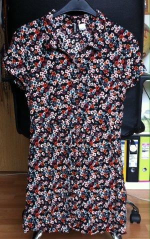 Tolles Blusenkleid mit Knopfreihe vorn