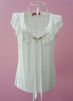 "tolles Blusentop...Shirt von ""Lisa Campione"" Gr.38 Kunstseide -top-"