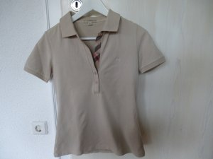 Tolles Burberry Poloshirt beige S