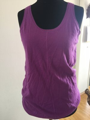 COS Knitted Top purple cashmere