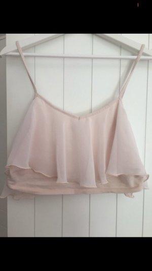 Hollister Cropped shirt rosé