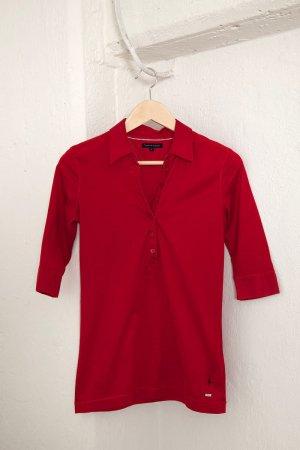 Tolles Damen Tommy Hilfiger Shirt mit 3/4 Ärmeln - Gr. S - rot