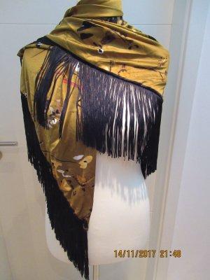 Zara Châle au tricot multicolore