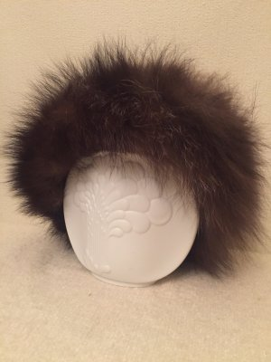 Vintage Fur Hat multicolored fur