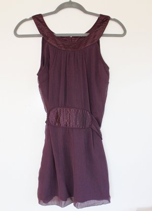 Vero Moda Empire Waist Top purple-dark violet polyester