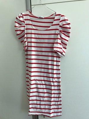 Villa Lang shirt wit-rood Katoen