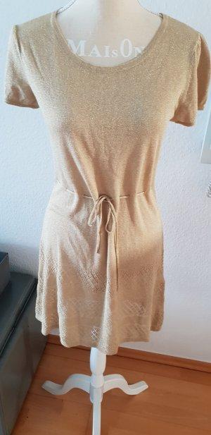 tolles goldenes Lurex Kleid