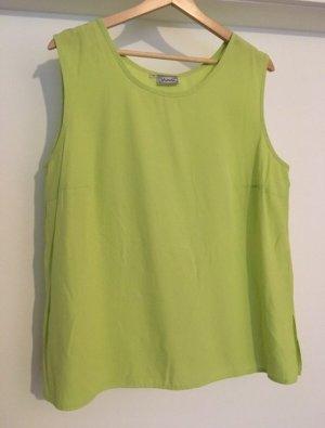 Camisa holgada verde pradera