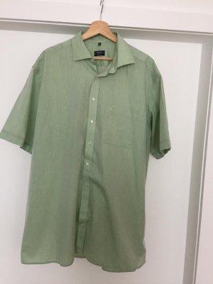 Eterna Camisa de manga corta verde claro