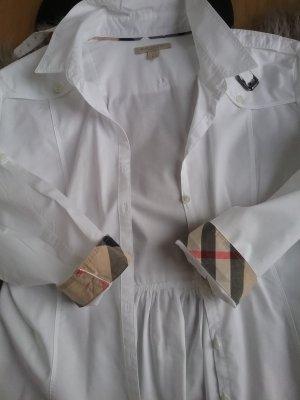 Burberry Brit Shirt met lange mouwen wit Katoen