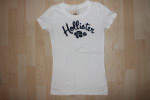 Tolles Hollistershirt mit blauer Aufschrift