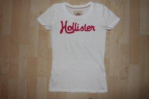 Tolles Hollistershirt mit pinker aufschrift