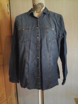 tolles Jeanshemd mit leichter waschung gr. xl C&A