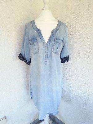 tolles Jeanskleid Gr.38/M coole Waschung
