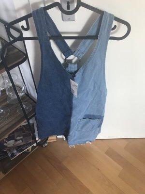 H&M Robe en jean bleu