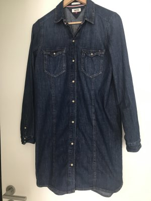 Tommy Hilfiger Denim Denim Dress dark blue cotton