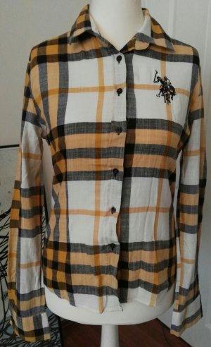 tolles karriertes polo hemd karriert beige