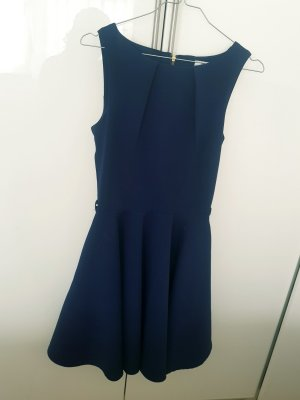 Closet Peplum Dress blue-dark blue