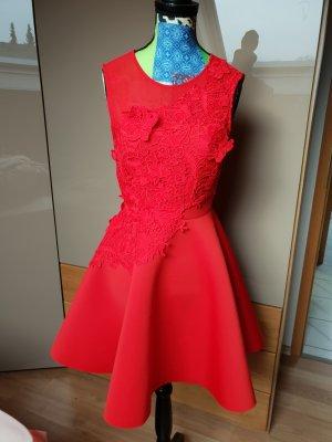 Asos A-lijn jurk rood