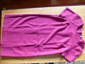 Tolles Kleid Benetton lila/magenta Wollgemisch