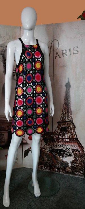 Anna Dello Russo for H&M Robe épaules nues multicolore