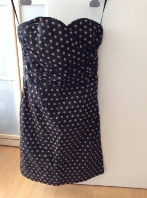 Tolles Kleid gepunktet Größe 34 H&M