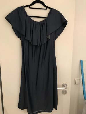 One Shoulder Dress cornflower blue