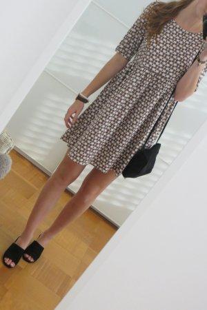 Vero Moda Mini Dress brown-white