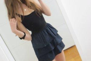 Tolles Kleid mit Jeansstufenrock