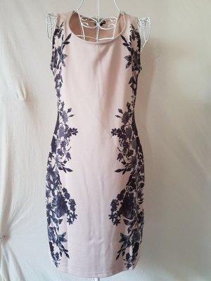 Tolles Kleid mit seitlichem Blumenprint Gr. 38