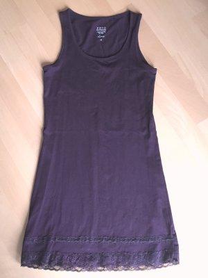 Zero Vestido estilo camisa púrpura-violeta amarronado