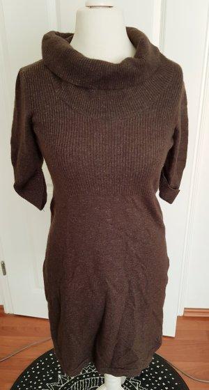 Esprit Vestito di lana marrone-marrone scuro