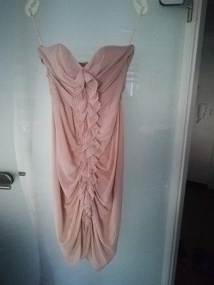 H&M Midi Dress nude