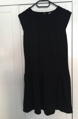 Mango Peplum Dress black
