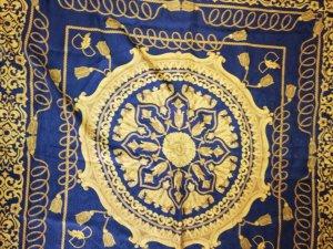 """Tolles """"königliches"""" Tuch von Basile, ca 135 x 135 cm"""