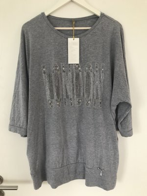 Oversized Sweater silver-colored-light grey