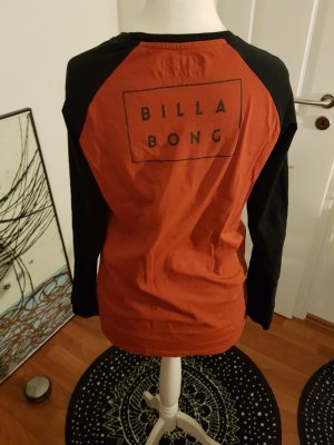 Billabong Sweat Shirt black-cognac-coloured