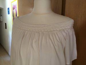 tolles leicht fließendes schulterfreies Sommerkleid Gr. 44 wNEU