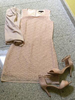 Comma Sheath Dress pink-dusky pink polyester