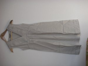 JIGSAW Robe empire crème lin