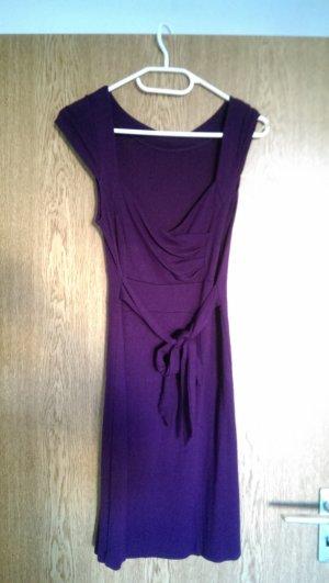 tolles lila Kleid zum binden