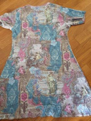 tolles Longshirt mit floralen Muster und Strass