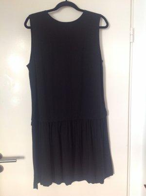 Uniqlo Midi-jurk zwart Viscose
