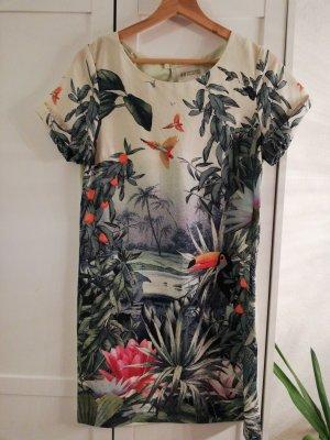 Tolles Minikleid mit floralem Muster